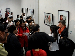 Ausstellung in Wuhan, China
